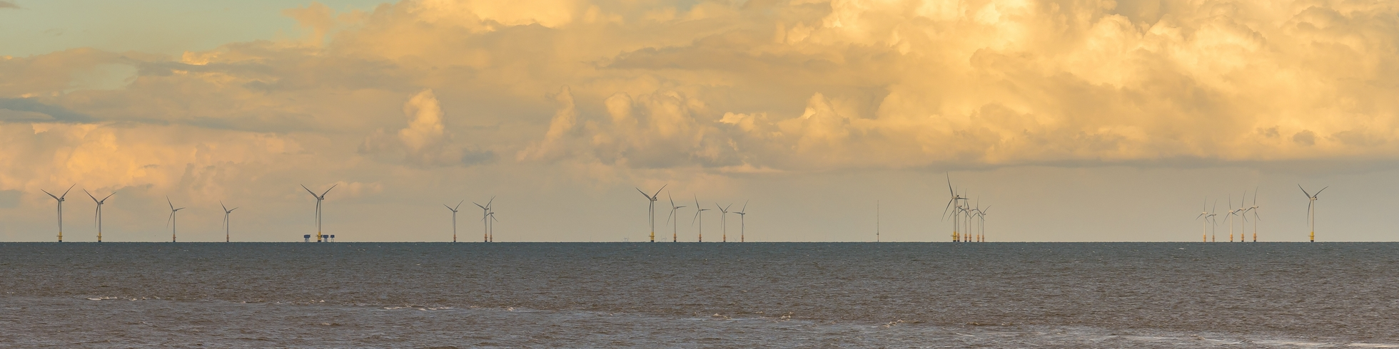 Wind Turbines off the coast of Whiststable
