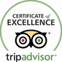 Cliftonville House B&B in Whitstable, Trip Advisor certificate of excellence